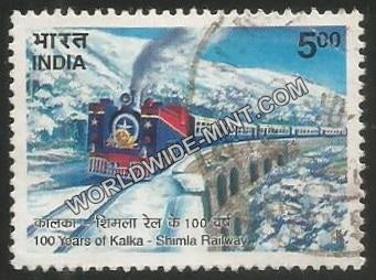 2003 100 Years of Kalka-Shimla Railway Used Stamp