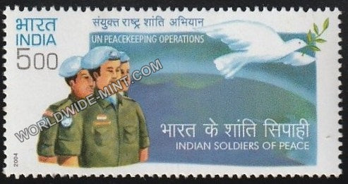 2004 UN Peacekeeping Operations Indian MNH