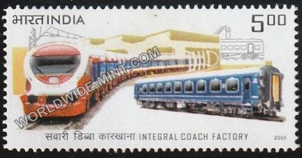 2005 Integral Coach Factory MNH