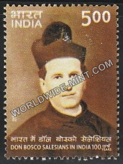 2006 Don Bosco Salesians in India 100 Years MNH