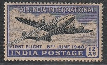 1948 Air India International- First Flight MNH