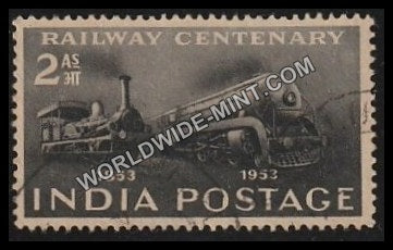 1953 Railway Centenary Used Stamp
