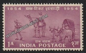1954 Postage Stamps Centenary- Mail Transport 1854 MNH