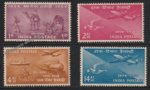 1954 Postage Stamps Centenary-Set of 4 MNH