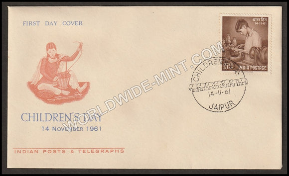 1961 Children's Day FDC