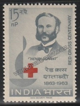 1963 Red Cross Centenary-Hendri Dunant MNH