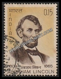 1965 Abraham Lincoln Used Stamp