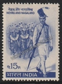 1967 Nehru and Indian state Nagaland MNH
