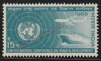 1968 UN Conference on Trade and Development MNH