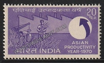 1970 Asian Productivity Year MNH