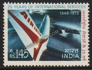 1973 25 Anniv. Of Air India's International Services MNH
