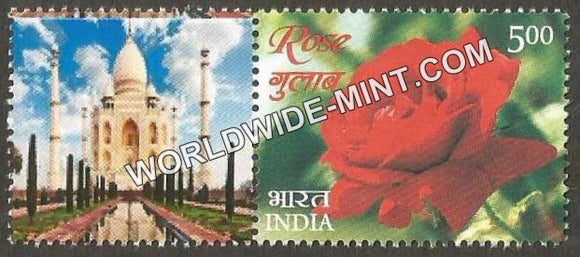 2017 India Rose Fragrance, My stamp Pair Type 1 . One & only Mystamp with Fragrance