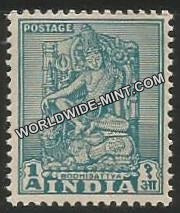 INDIA Lucknow Museum (Die -II) 1st Series (1a) Definitive MNH