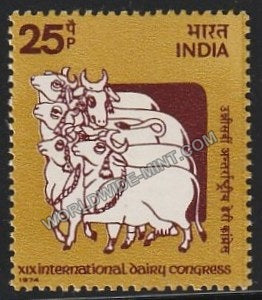 1974 XIX International Dairy Congress MNH
