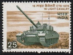 1976 16 Light Cavalry Regiment MNH