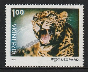 1976 Indian Wild Life-Leopard MNH