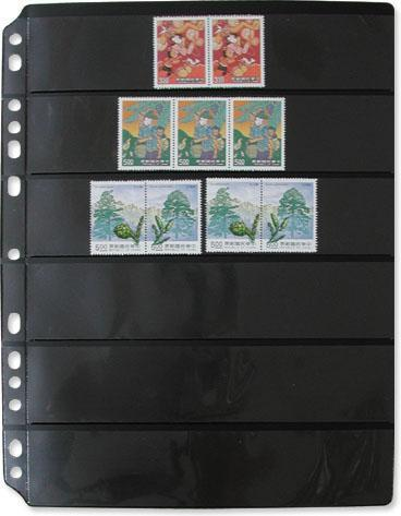 7028 - Stamp Refill 6 Divider/1 packet - 5 Refill Sheet-Imported Taiwan Made-Chuyu Culture