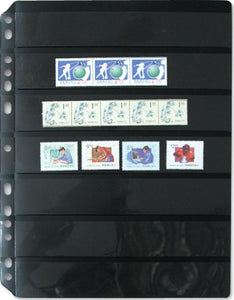 7029 - Stamp Refill 7 Divider/1 packet - 5 Refill Sheet-Imported Taiwan Made-Chuyu Culture