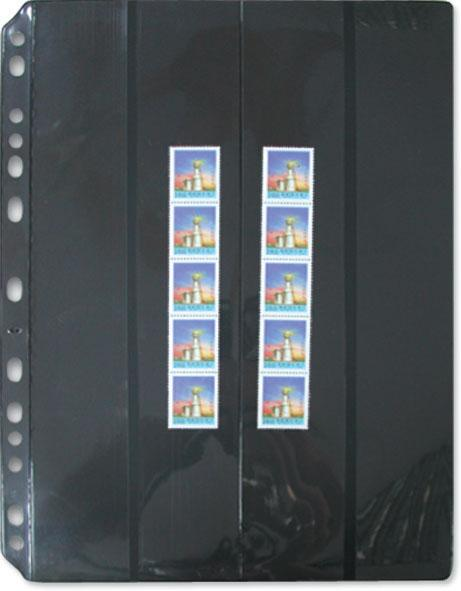 7032 - Stamp Refill Vertical 4 strip Divider Divider/1 packet - 5 Refill Sheet-Imported Taiwan Made-Chuyu Culture