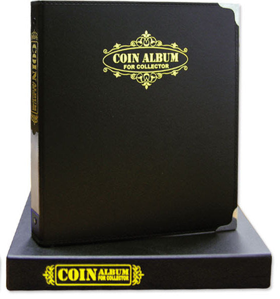 7071A Coin Album with case - Black Colour - Imported Taiwan Made- Chuyu Culture