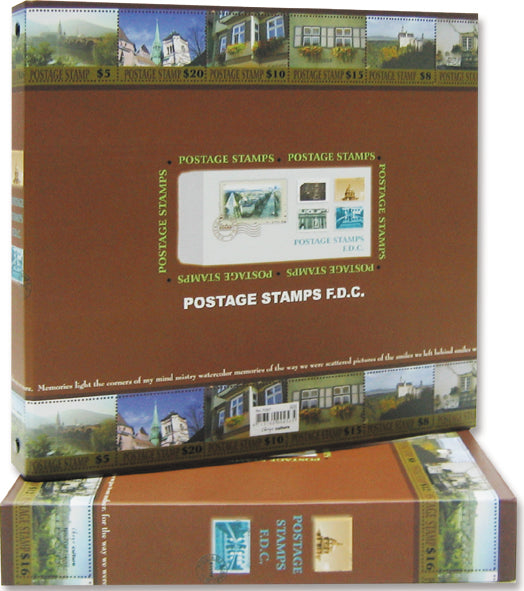 7097 FDC Album With case with 20 Refills included-Imported Taiwan Made-Chuyu Culture