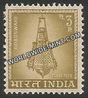 INDIA Brassware 4th Series(3p) Definitive MNH