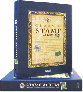 7201 Stamp Album with 16 Refills - Imported Taiwan Made- Chuyu Culture