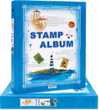 7202 Stamp Album with 16 Refills Imported Taiwan Made- Chuyu Culture