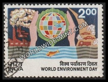 1977 World Environment Day Used Stamp