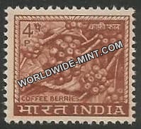INDIA Coffee Berries 4th Series(4p) Definitive MNH