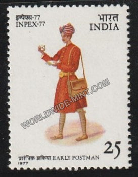 1977 INPEX -77-Early Postman MNH