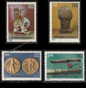 1978 Museums of India-Set of 4 MNH