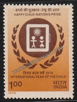 1979 International Year of the Child-Indian IYC Emblem MNH