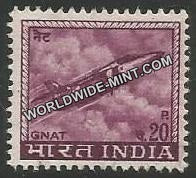 INDIA Gnat Fighter 4th Series(20p) Definitive MNH