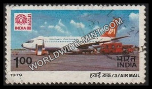 1979 Air Mail-Boeing 737 Jet Aircraft Used Stamp