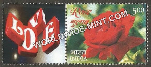 2017 India Rose Fragrance, My stamp Pair Type 2 . One & only Mystamp with Fragrance