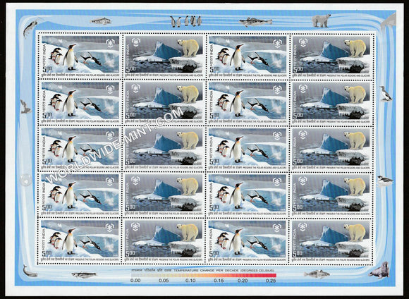 2009 Preserve the Polar Regions and Glaciers Sheetlet