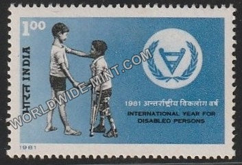1981 International Year For Disabled persons MNH