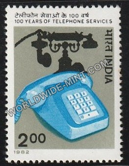 1982 100 Years of Telephone Services MNH