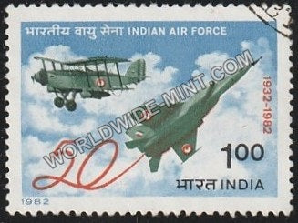 1982 Indian Air Force Used Stamp