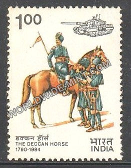 1984 The Deccan Horse MNH