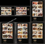 2013 100 Years of Indian Cinema-Sheetlet Complete set of 6