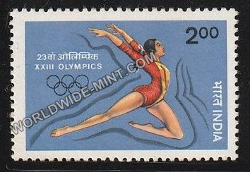 1984 XXIII Olympic Games-Floor exercises MNH