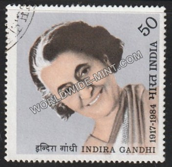 1984 Indira Gandhi Used Stamp