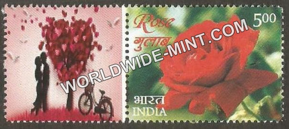 2017 India Rose Fragrance, My stamp Pair Type 3 . One & only Mystamp with Fragrance