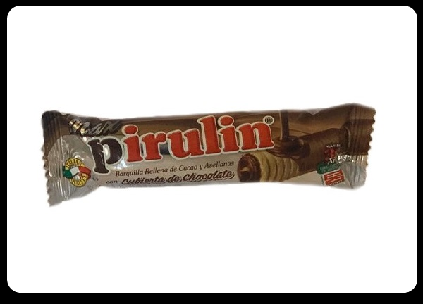 Maxi Pirulin - Chocolate-covered cocoa and hazelnut-filled bars