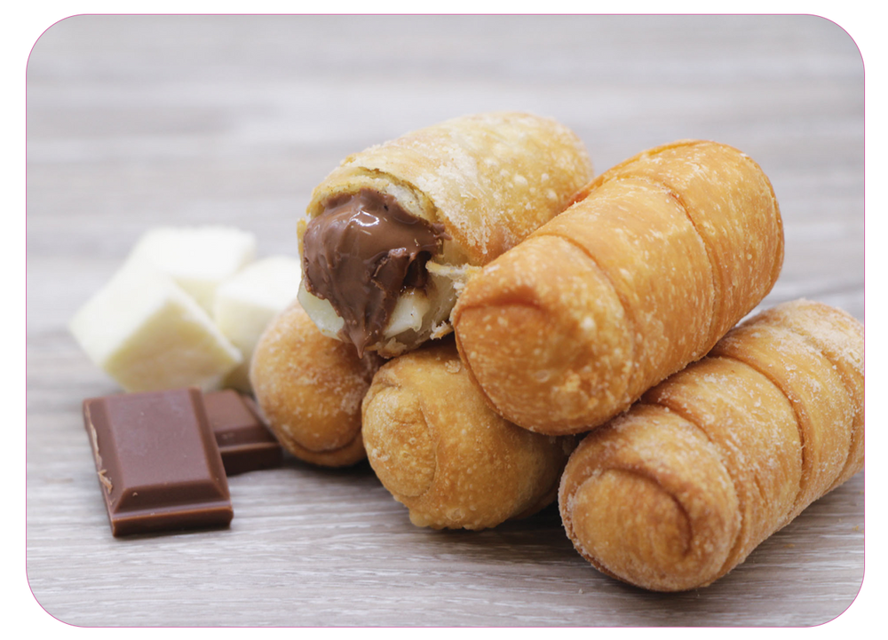 Tequeños de Queso con Chocolate - Tequeños with Chocolate and Cheese