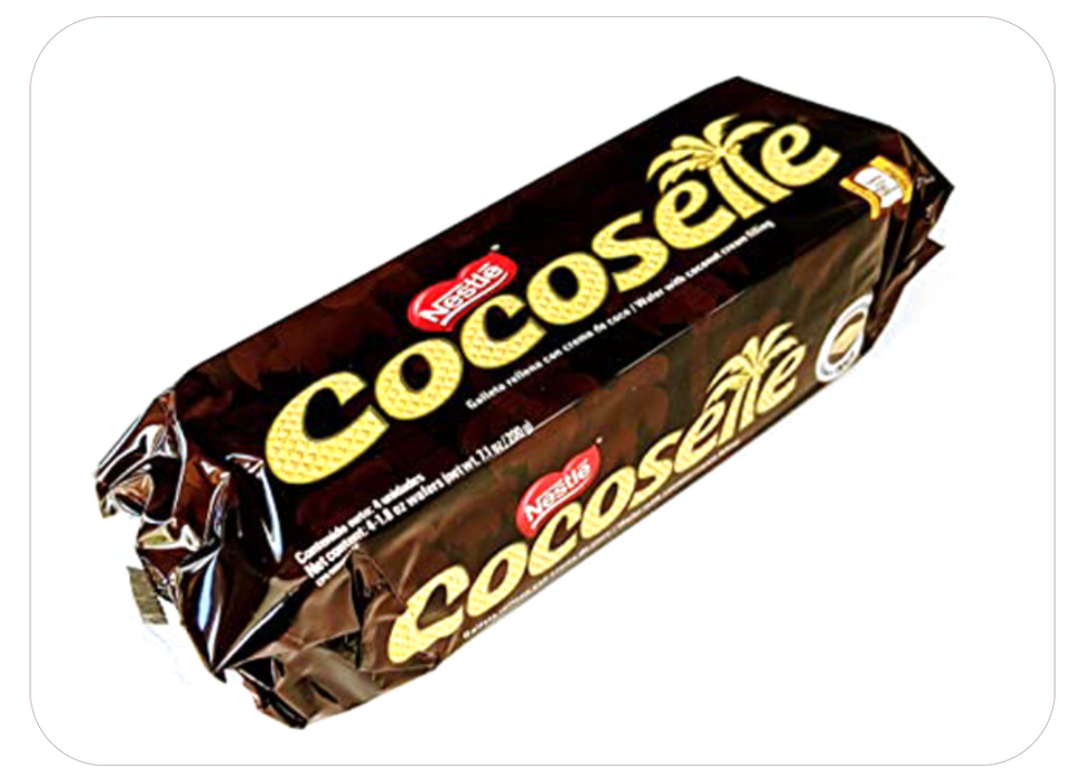 Cocosette - Wafer filled with coconut cream