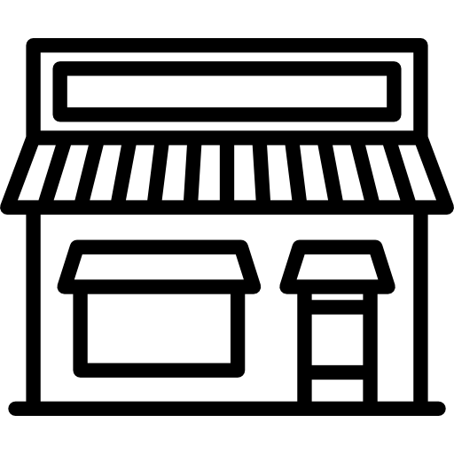 Illustration of a small storefront