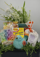 Load image into Gallery viewer, gift basket for her, ganz, greenwich soap, good time slushi, wisconsin gift baskets, local delivery